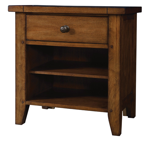 Image of One Drawer Nightstand