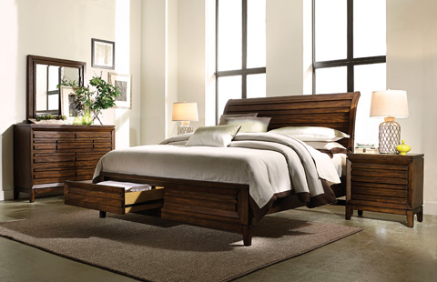 Image of Queen Sleigh Bed
