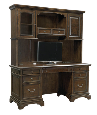 Aspenhome - Credenza Desk with Hutch - I24-DESK2