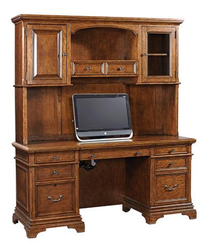 Aspenhome - Credenza Desk with Hutch - I26-DESK