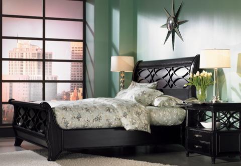 Aspenhome - Queen Sleigh Bed - I88-BED