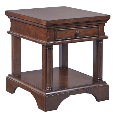 Image of End Table with Power