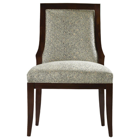 Baker Furniture - Vienna Upholstered Side Chair - 9148