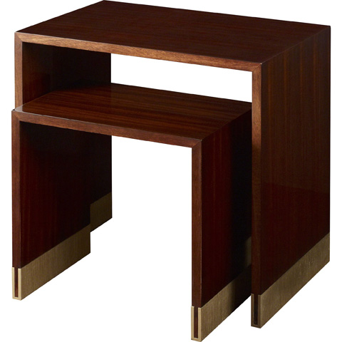 Baker Furniture - Cascade Nesting Tables - 8662