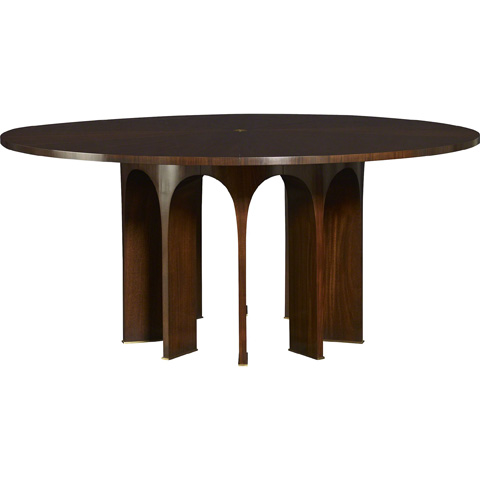 arcade dining table 8638 baker furniture tables from furnitureland south