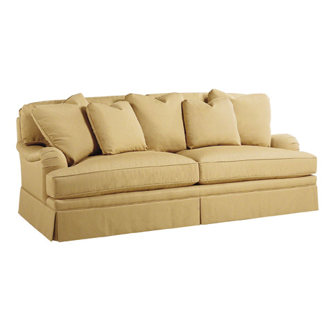 Image of Coterie English Arm Loveseat Sofa
