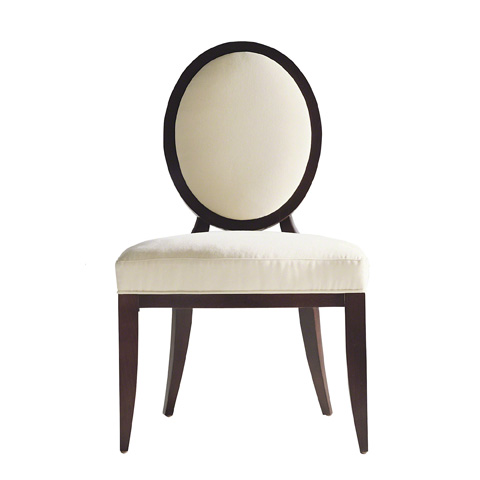 Image of Oval X-Back Dining Side Chair