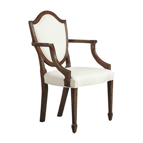 Image of Shield Back Arm Chair