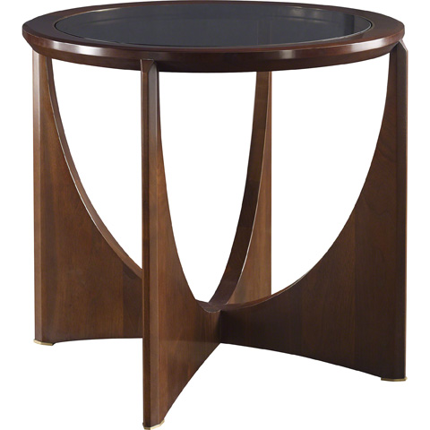Image of Dana Glass Top Side Table