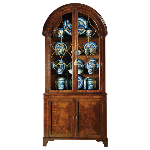 Image of Bonnet Top China Cabinet