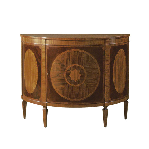 Image of Demilune Console Cabinet