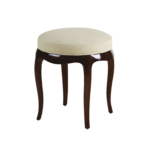 Baker Furniture - Round Vanity Stool - 3482