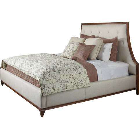 Baker Furniture - Lyric Tufted Queen Bed - 3624Q-1