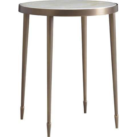 Baker Furniture - Qi Round Accent Table - 3665