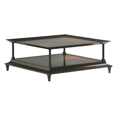 Baker Furniture - Madras Square Coffee Table - 3752