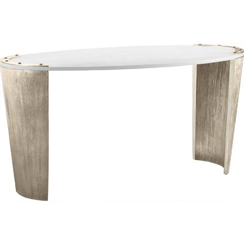 Baker Furniture - Kampa Oval Desk - 3878-1
