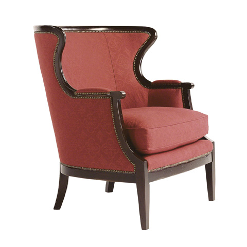 Image of Upholstered Wing Chair