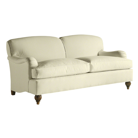 Image of Tight Back English Sofa