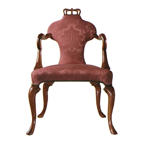 Baker Furniture - Queen Anne Arm Chair - 5139