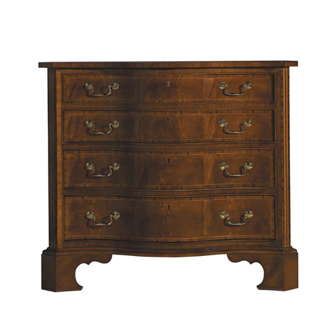 Image of George III Serpentine Chest