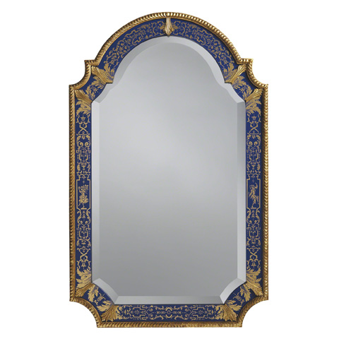 Image of William and Mary Looking Glass Mirror