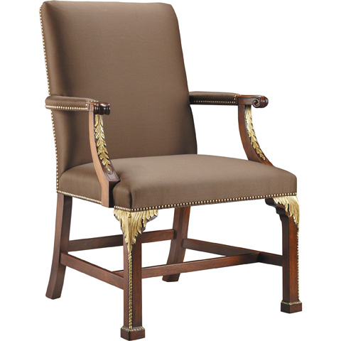 Image of Square Back Arm Chair