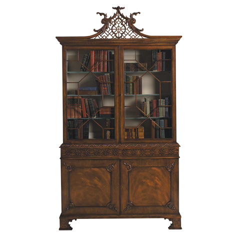 Image of Penshurst Chippendale Display Cabinet