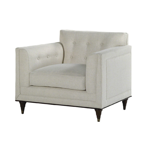Baker Furniture - Wren Tufted Chair - 6372