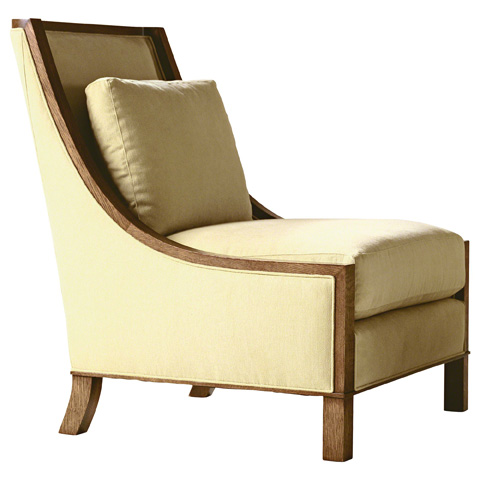 Baker Furniture - Wood Lounge Chair - 6411