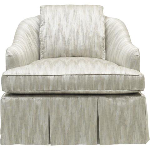 Baker Furniture - Soiree Skirted Chair - 6702C