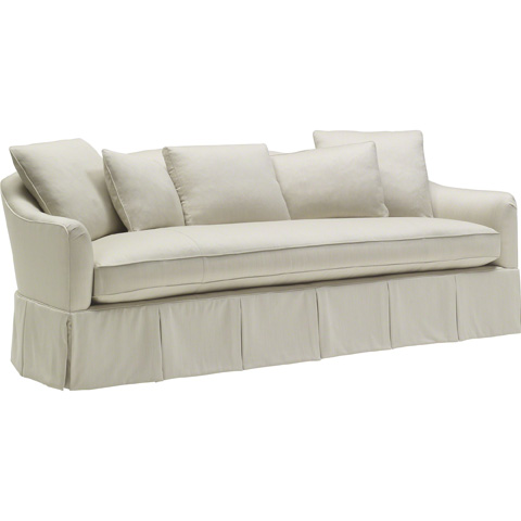 Baker Furniture - Soiree Skirted Sofa - 6702S