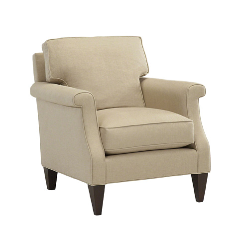 Image of Shaped Arm Lounge Chair