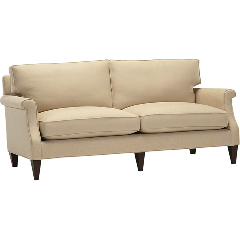 Image of Shaped Arm Sofa