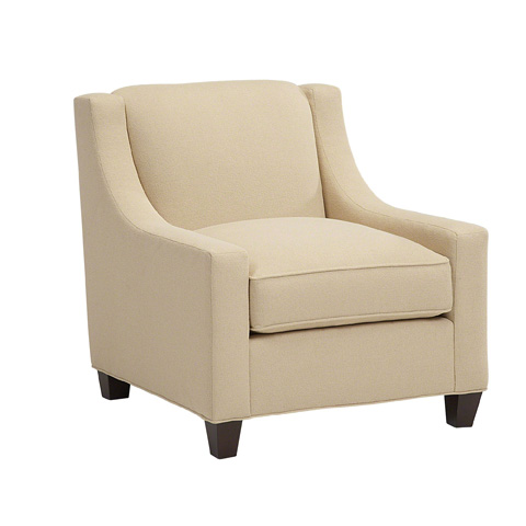 Image of Sloped Arm Lounge Chair