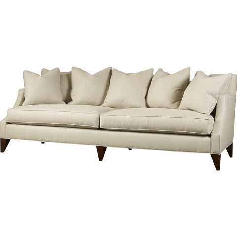 Image of Upholstered Two Cushion Sofa
