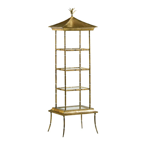 Baker Furniture - Pagoda Etagere - 8595