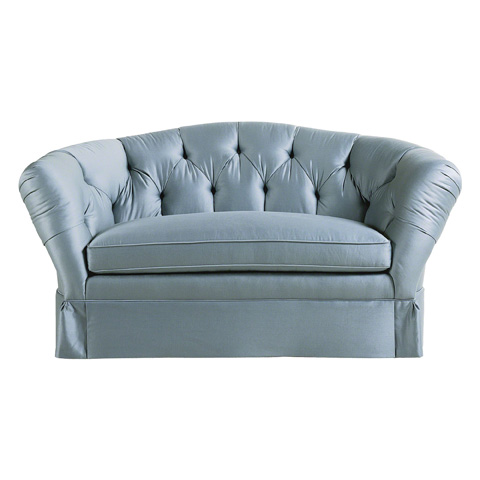 Image of Tufted Back Loveseat