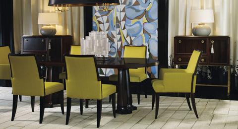Baker Furniture - Laura Kirar Dining Room Set - 9137SET