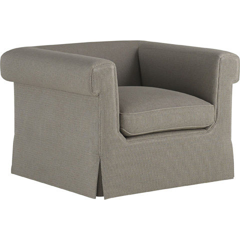 Baker Furniture - Horizonte Skirted Chair - 6147C