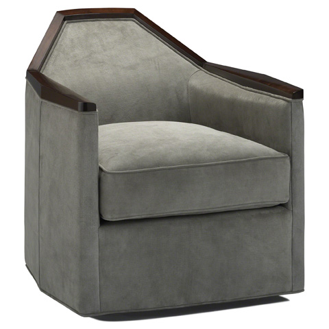 Baker Furniture - Normandie Swivel Chair - 6393C