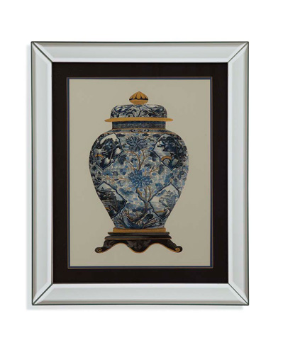 Image of Blue Porcelain Vase II