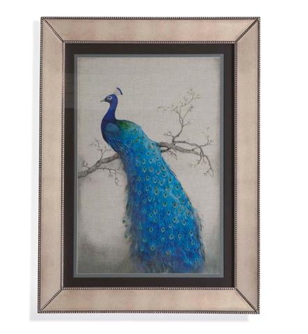 Image of Peacock Blue II