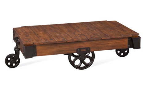 Bassett Mirror Company - Factory Cart Table - BM2-12RT