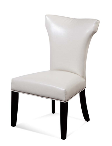 Image of Nelson Shaped Nailhead Parson in White