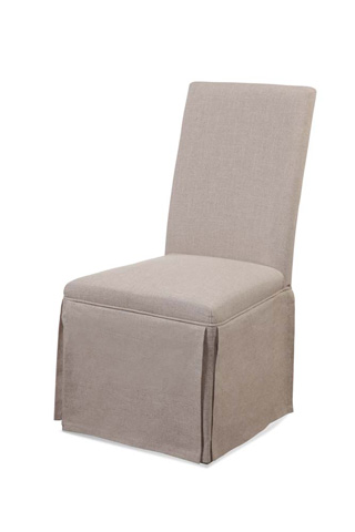 Image of Skirted Parsons Chair