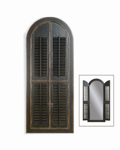 Bassett Mirror Company - Arched Shutter Mirror - M1925