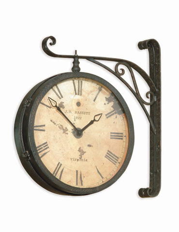 Bassett Mirror Company - Victorian RR Clock - M2271