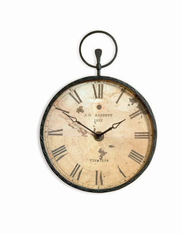 Bassett Mirror Company - Papa's Pocket Watch - M2310