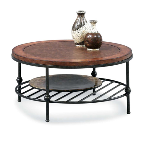 Bassett Mirror Company - Bentley Round Cocktail Table - T1062-120