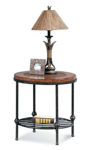 Bassett Mirror Company - Bently Round End Table - T1062-220